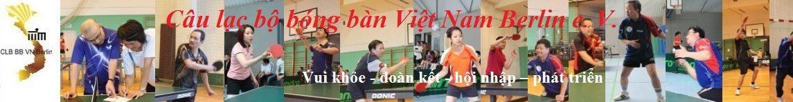 Câu Lạc Bộ Bóng Bàn Việt Nam Berlin e. V.