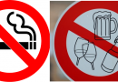 Thông báo: cấm hút thuốc và uống rượu bia trong khuôn viên sân tập