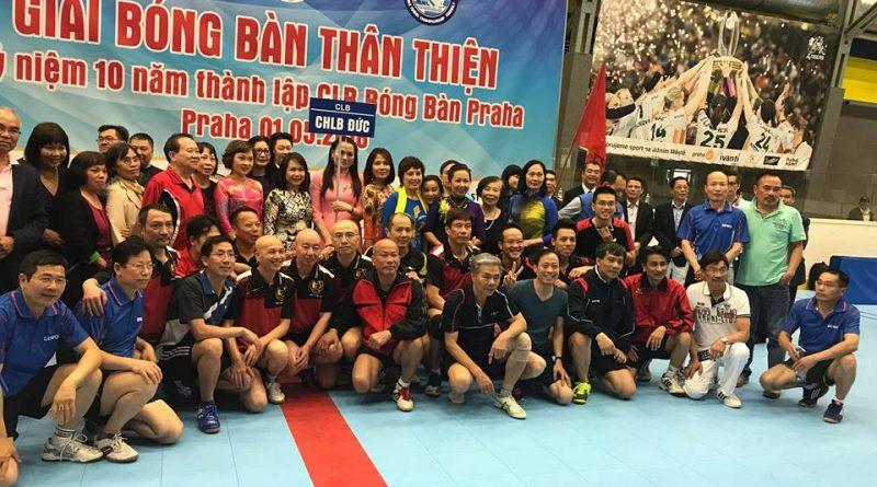 CLB Bóng Bàn Việt Nam Berlin tham dự giải bóng bàn Thân thiện Praha 2018