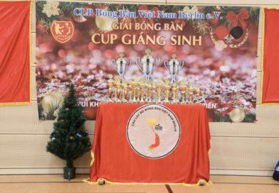 Kết quả Cúp Giáng Sinh 2019 CLBBB Việt Nam Berlin mở rộng